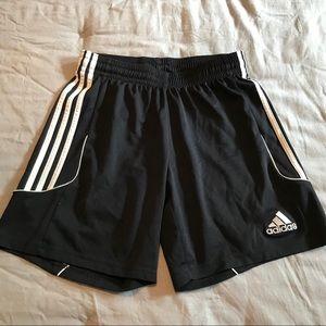 Adidas men's climalite soccer shorts - black